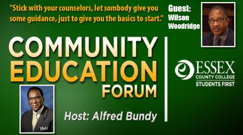 ECC Community Education Forum with Alfred Bundy: Naturi Naughton, ECC alum Wilson Woodridge & Prof. Dr. Margaret Stevens