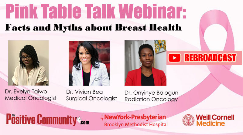 Pink Table Talk Discusses Breast Cancer Rebroadcast