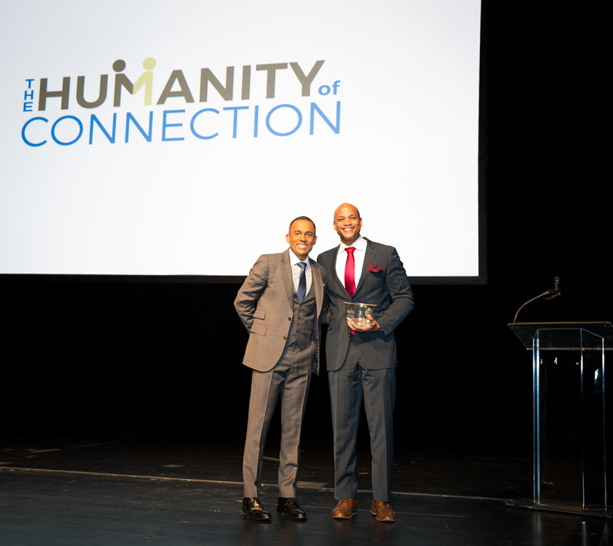 HILL HARPER AND HOC HONOREE WES MOORE Photo by Davide De Pas