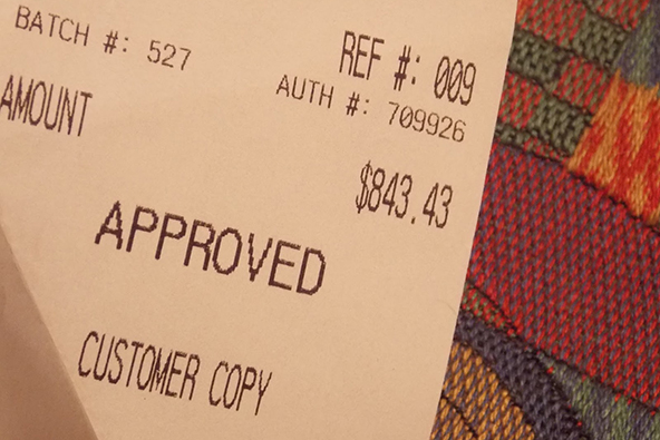Best Practices for Credit Card Transaction Receipts