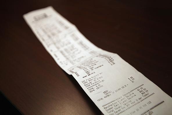 Credit Card Sales Receipt Processing