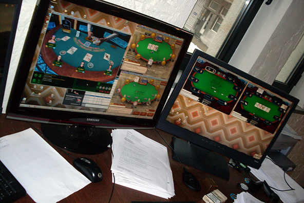 Processing Procedures for Online Gambling Transactions