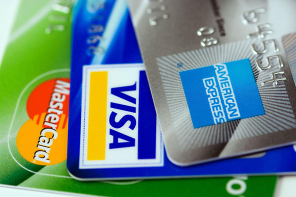 Credit Card Use in U.S. Falls to Record Low