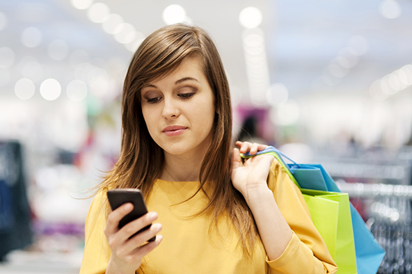 Half of American Smartphone Owners Use Their Phones for Mobile Shopping