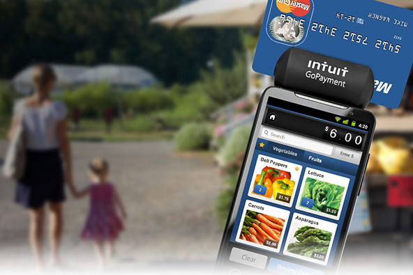 Intuit Tweaks Its GoPayment Mobile Payment Service to Compete with Square