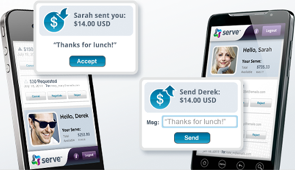 American Express Takes on PayPal with Serve