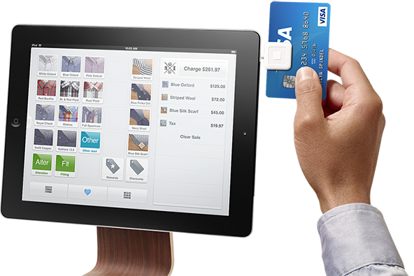 Mobile Payments Start-up Square Teams Up with Apple