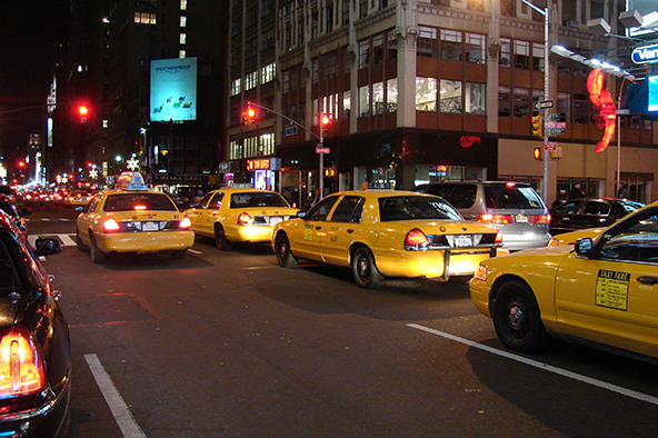 Why Cab Drivers Hate Credit Cards, Christmas Edition