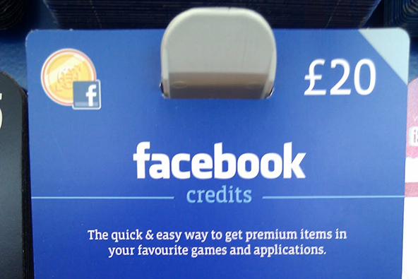 Facebook Ditches Credits, Keeps the 30% Payment Processing Fee