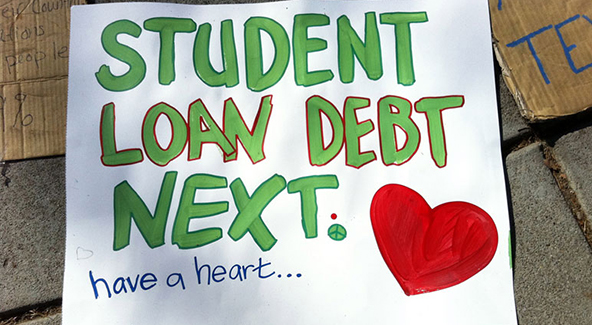 Liquidity, Savings Rate and Student Loans