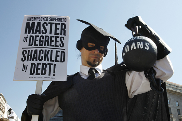 Americans Keep Slashing Credit Card Debt, Racking up Student Loans