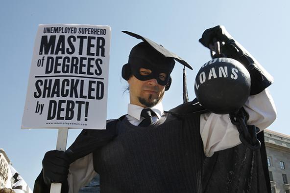 Americans Keep Slashing Credit Card Debt, Racking up Student Loans