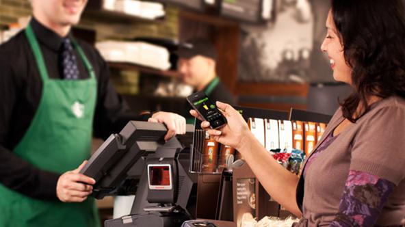 Square Does a Starbucks at... Starbucks