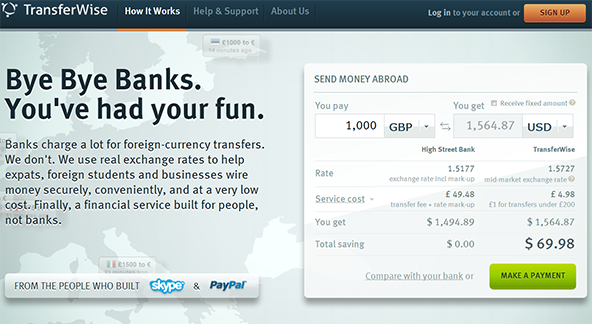 The TransferWise Way to Skyping Money