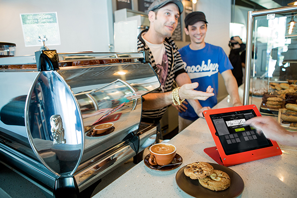 How Credit Cards Are Killing the Barista's Tip
