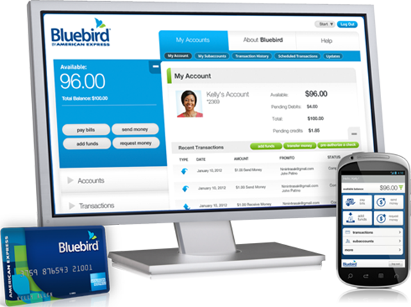 AmEx Turns Bluebird into a Checking Account