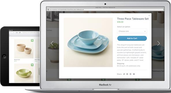 Square Goes Online, Takes on Amazon, eBay