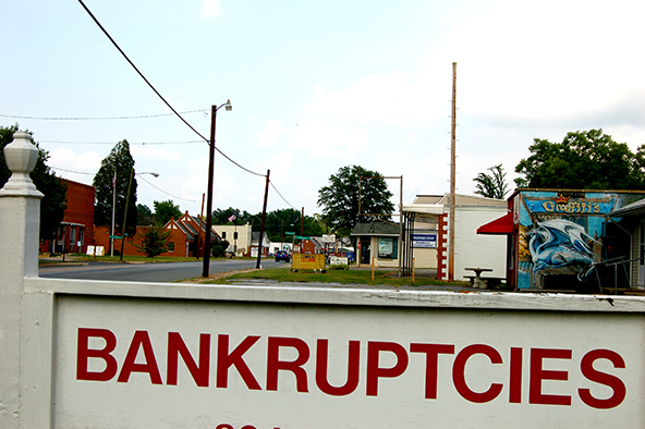 Going Bankrupt Does Scare Lenders Away