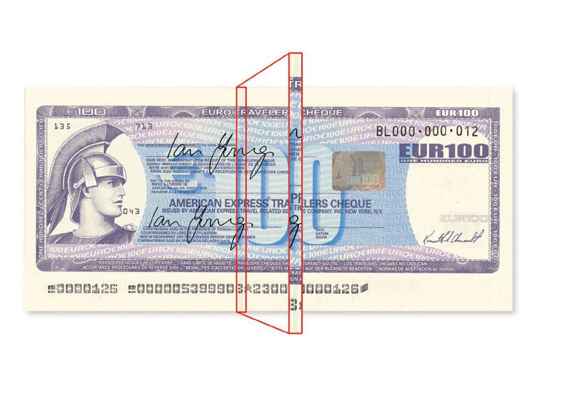 Brand New! American Express Check Presenter Single Panel 25 Pcs