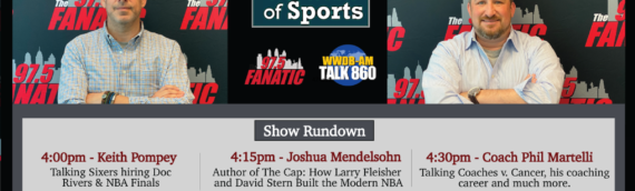 The Heart of Sports with guests Keith Pompey, Josh Mendelsohn & Phil Martelli – 10/2/20