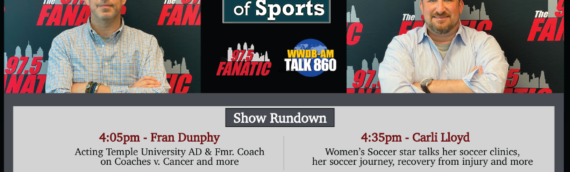 The Heart of Sports with Guests Fran Dunphy and Carli LLoyd – 10/16/20