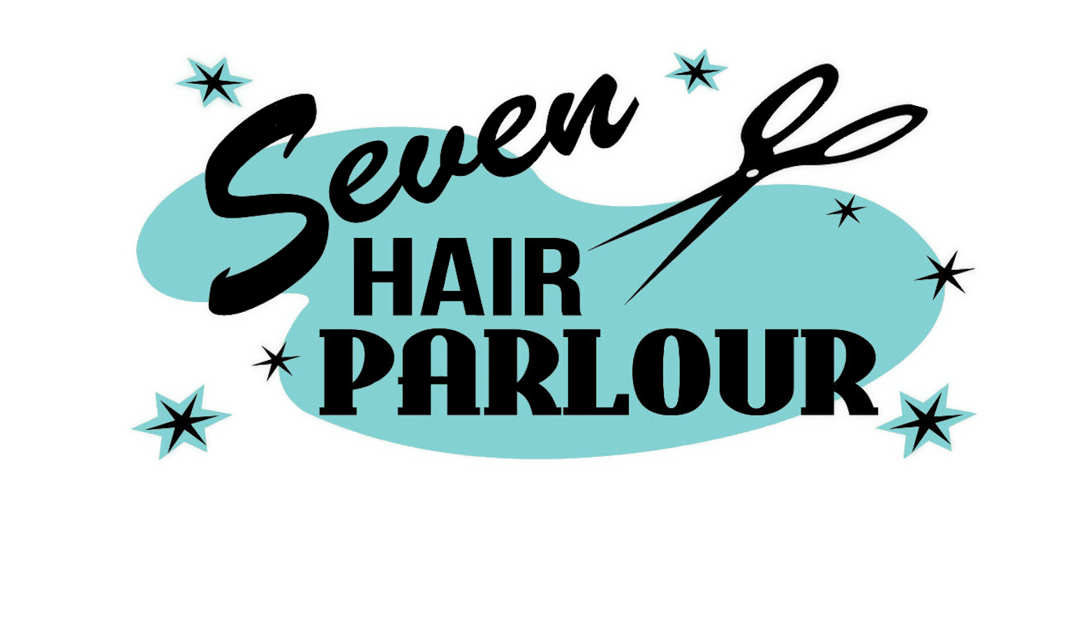 Seven Hair Parlour  Logo