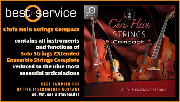 NEW Best Service Chris Heins Solo Violin Virtual Instrument Sampler PC//MAC