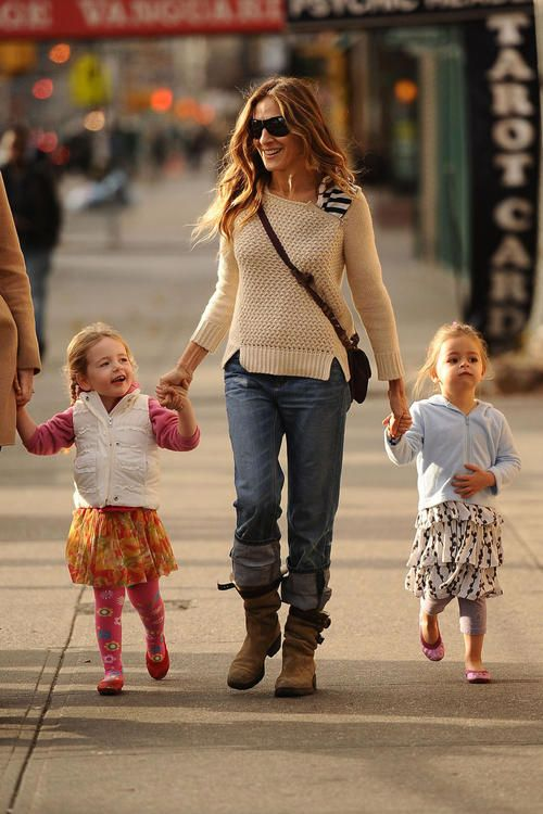 Sarah Jessica Parker educational walks with kids