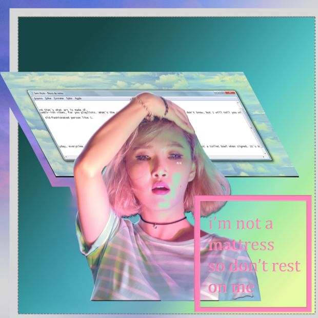 Vaporwave aesthetic by Gunhelmet | Girlfriend is Better