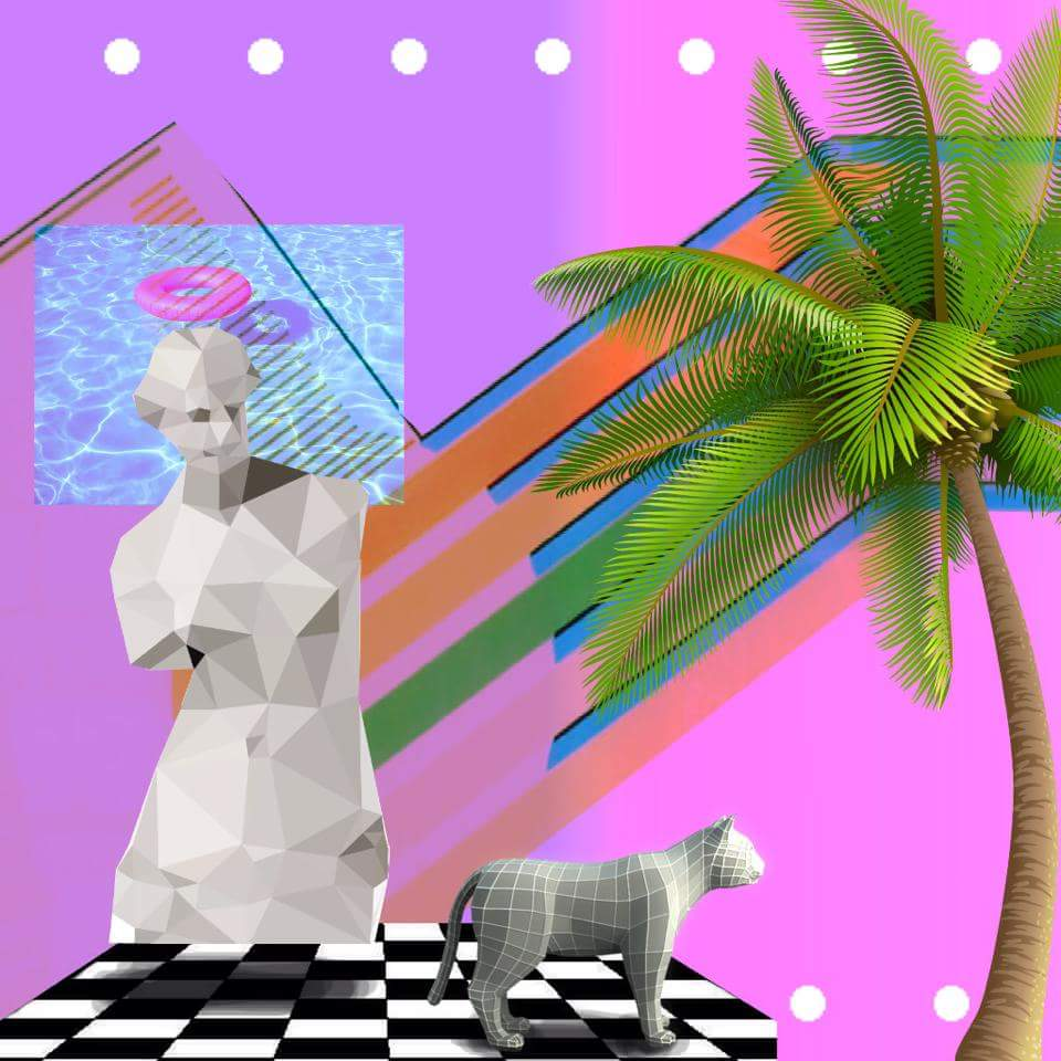 Vaporwave A E S T H E T I C   Girlfriend is Better