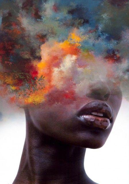 Double exposure design by Antonio Mora | Girlfriend is Better
