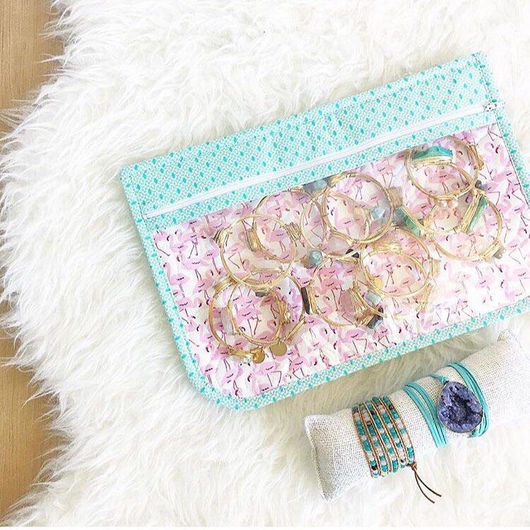 Honymfin zipper pouch | Aynsley Campbell | Girlfriend is Better