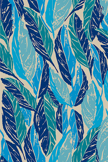 Justina Blakeney Nana (blue) Tiles | Hygge + West