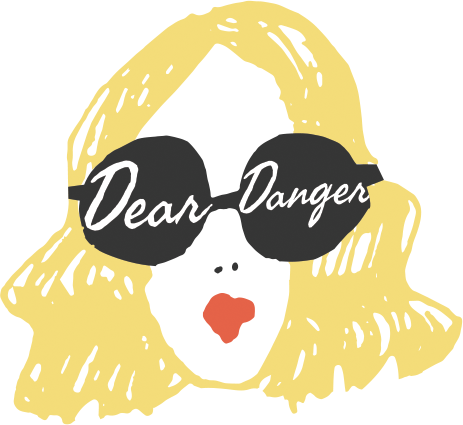 Dear Danger mobile boutique logo | Girlfriend is Better