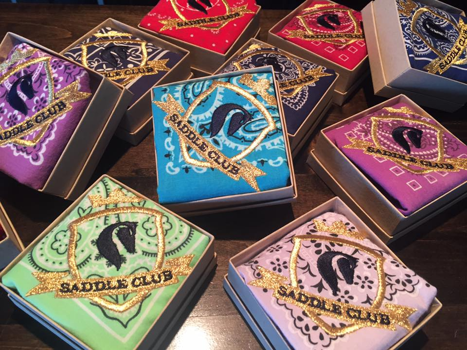 Saddle Club bandanas carried by Dear Danger mobile boutique | Girlfriend is Better