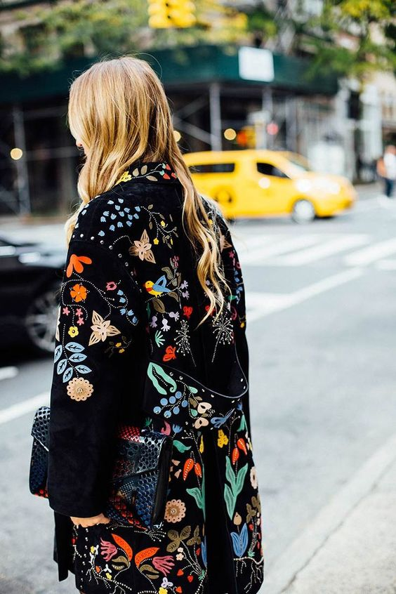 Valentino embroidery | Embellished jackets | Girlfriend is Better