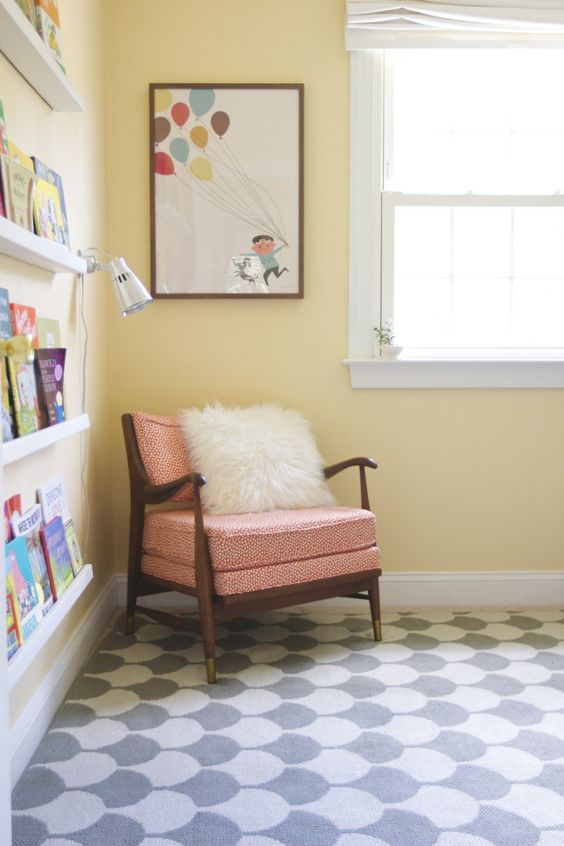 Child's room | Enhance creativity with Feng Shui | Mid-century modern chair | Girlfriend is Better