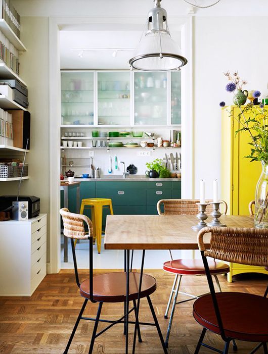Health + Well-Being Feng Shui | kitchen decor | yellow + green | Girlfriend is Better