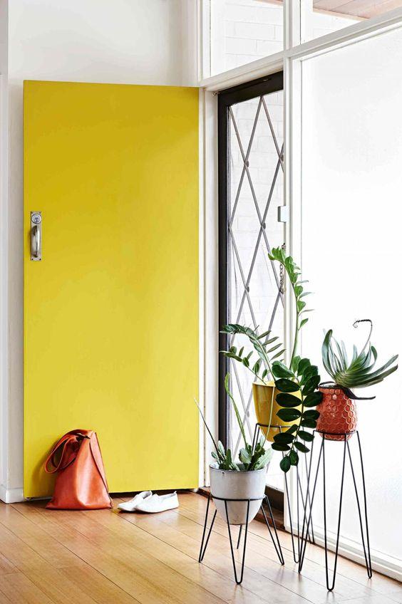 Health + Well-Being Feng Shui | Bright yellow door | Girlfriend is Better