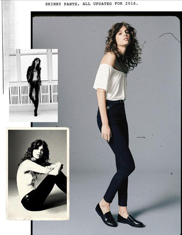 High-rise skinny jeans | So punk rock | Girlfriend is Better