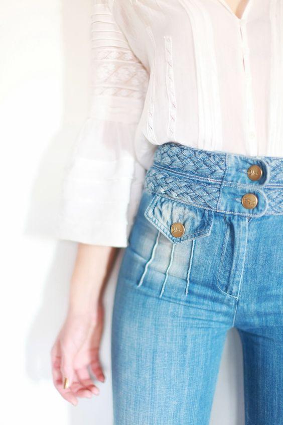 High-rise jeans   Girlfriend is Better