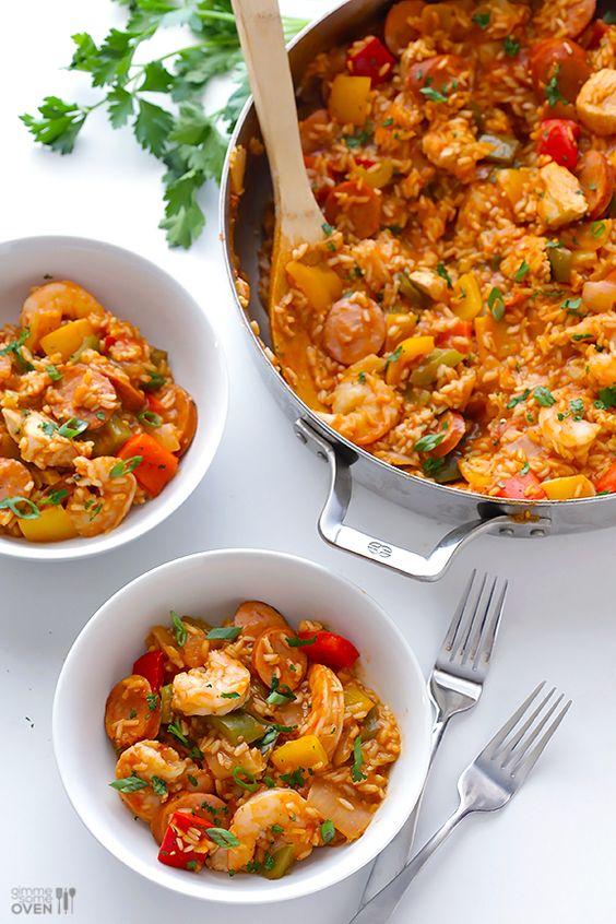 Healthy jambalaya recipe | Girlfriend is Better