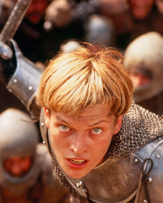 Milla Jovovich as Joan of Arc | Girlfriend is Better