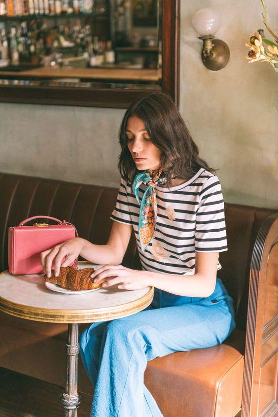Cute neck scarf ideas | Girlfriend is Better