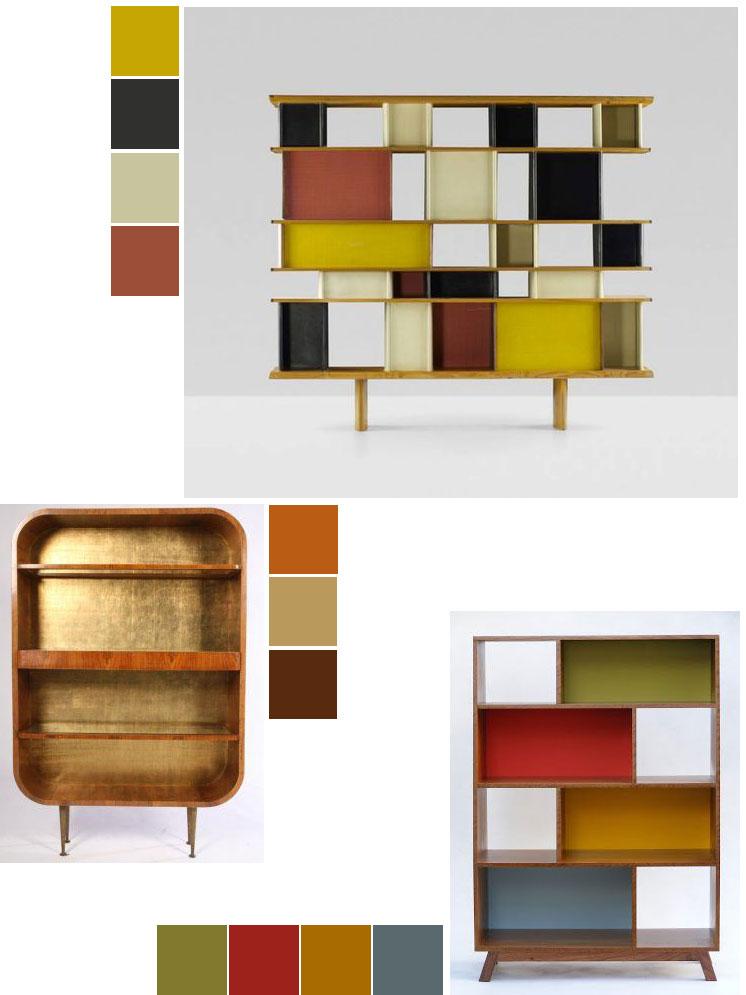 Painted furniture | Bookshelves DIY ideas | Girlfriend is Better