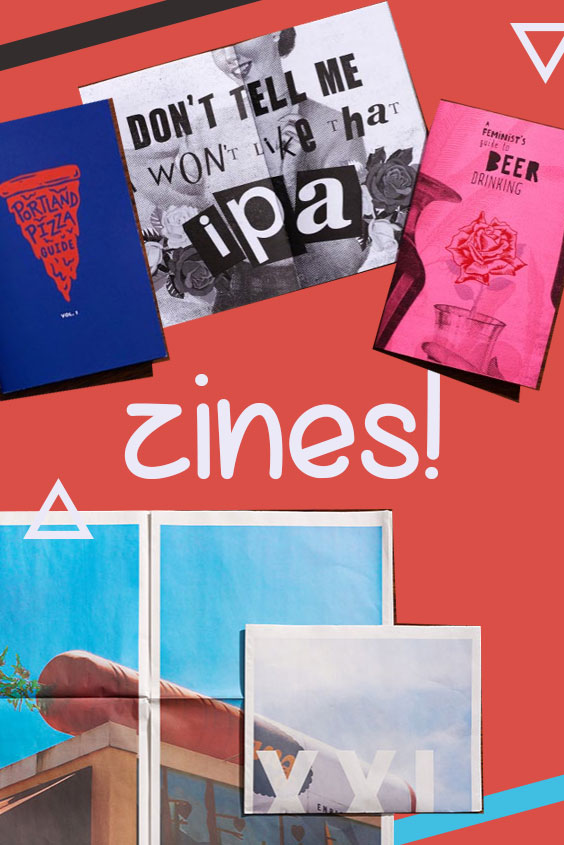 Portland Oregon Zines | Travel guide | Girlfriend is Better