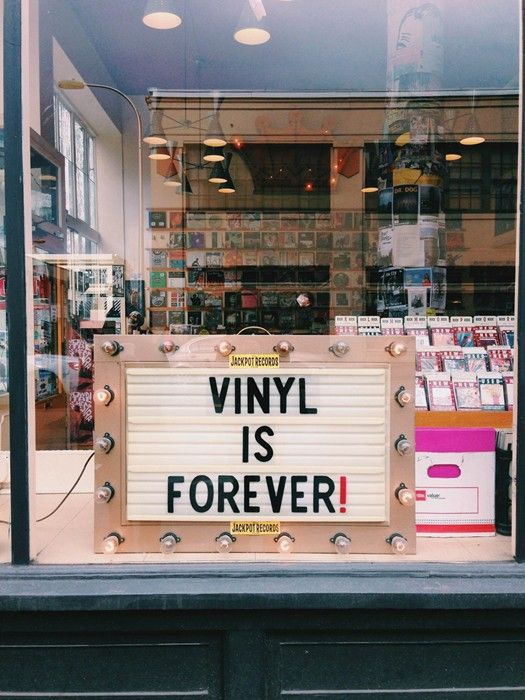 Vinyl is forever! | Portland Oregon travel guide | Girlfriend is Better