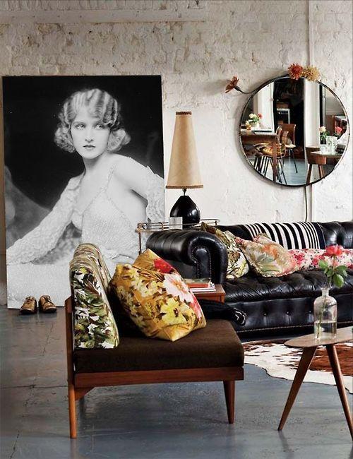 Reupholstering furniture | Mid-century modern meets boho | Girlfriend is Better