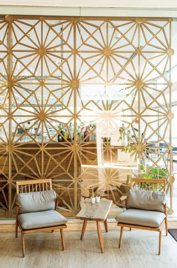Mid-century modern room dividers + partitions   Istanbul's Müzedechanga restaurant   Girlfriend is Better