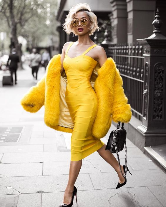 Yellow fashion ideas to brighten up your day   Girlfriend is Better